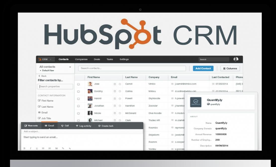 HubSpot CRM Dashboard